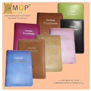 Funda biblia mediana normal (Personalizada)